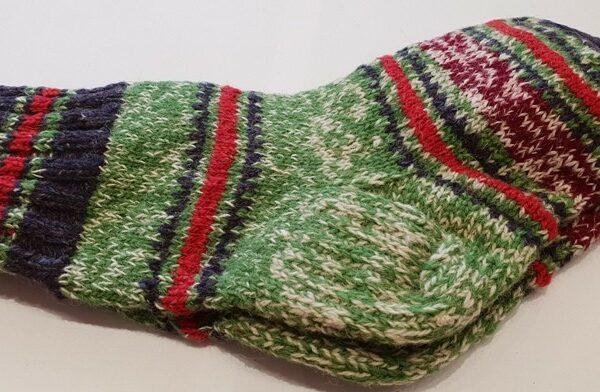 Носки вязанные шерстянные