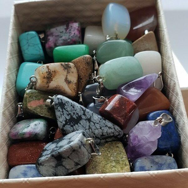 Натуральный камень амулет - подвеска