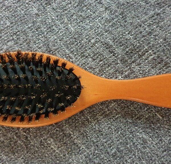 Массажная щетка для волос из натуральной  щетины