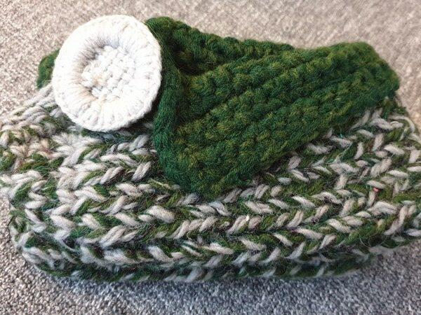 Вязанные чешки 20cm