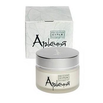Аркадия: Крем-гель ночной  уход для нормальной и комбинированной кожи 50 мл