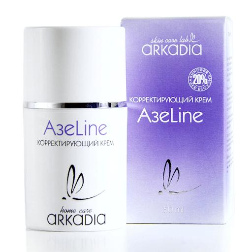 Аркадия Корректирующий крем с азелаиновой кислотой для проблемной кожи АзеLine