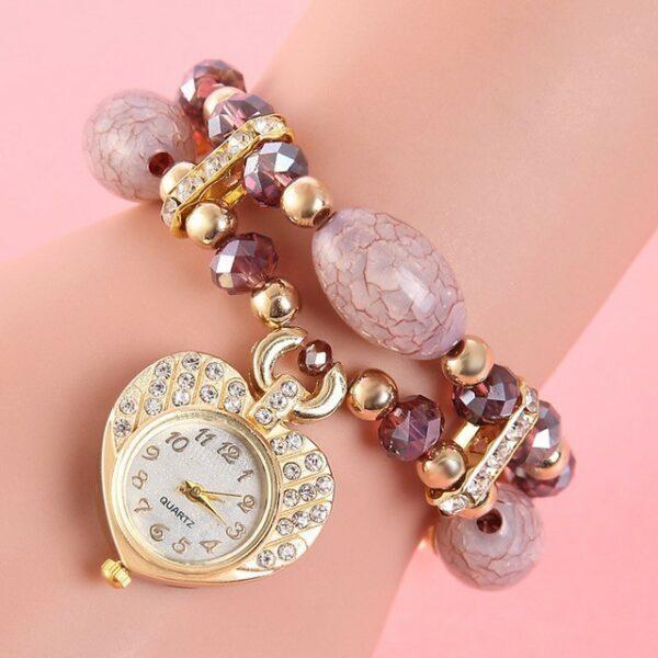 Кварцевые наручные часы Для женщин - Бисер