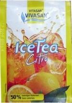 VIVASAN Низкокалорийный тонизирующий напиток Холодный чай Цитро