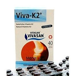 VIVASAN Viva K2 (40 капсул)