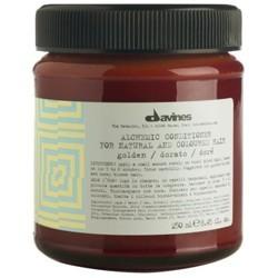 Davines Alchemic Conditioner Golden Кондиционер для светло-золотистых и медово-золотистых оттенков