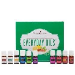 YL Everyday Oils Kit из 10 эфирных масел и смесей