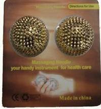 Массажные магнитные  шары 1 комплект – 2 шара