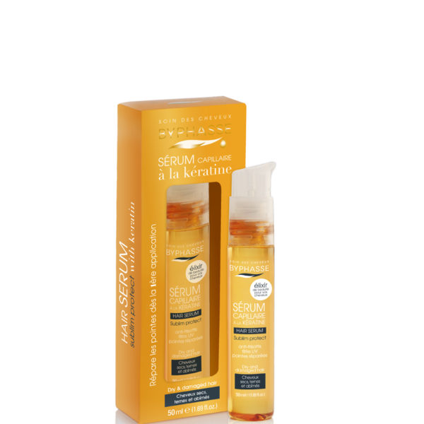 Byphasse серум для волос Hair serum sublim protect dry and damaged hair 50ml