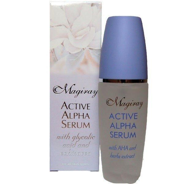 MAGIRAY ACTIVE ALPHA SERUM (АНА-10%) обновляющего действия для всех типов кожи 30ml