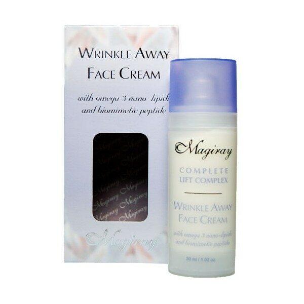 MAGIRAY CLC® WRINKLE AWAY FACE CREAM Активный крем для коррекции возрастных мимических морщин 30ml