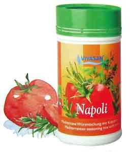 VIVASAN Приправа-Микс НАПОЛИ (НЕАПОЛИТАНСКАЯ) со средиземноморскими травами для приправления итальянских и французских блюд