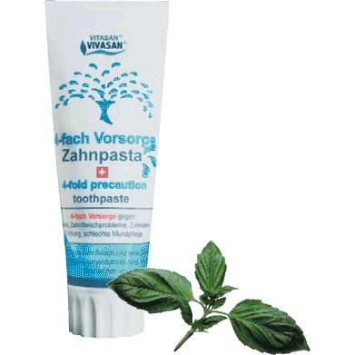 VIVASAN зубная паста со смесью эфирных масел 4 IN1