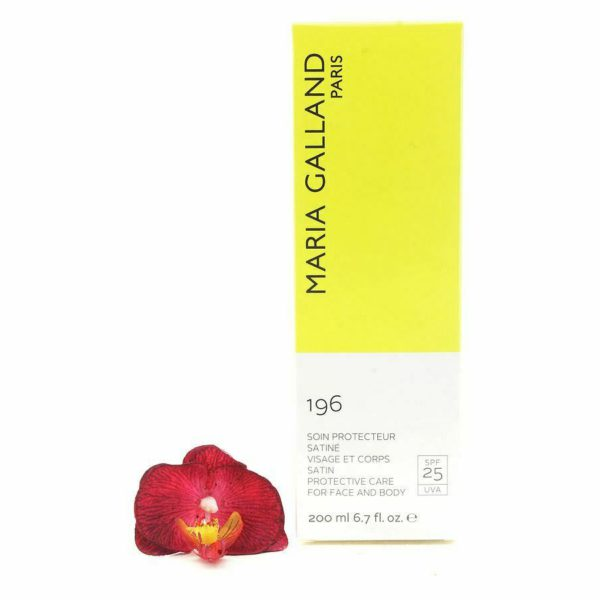 MARIA GALLAND 196 защита от солнца  SATIN PROTECTIVE CARE SPF25 200ML