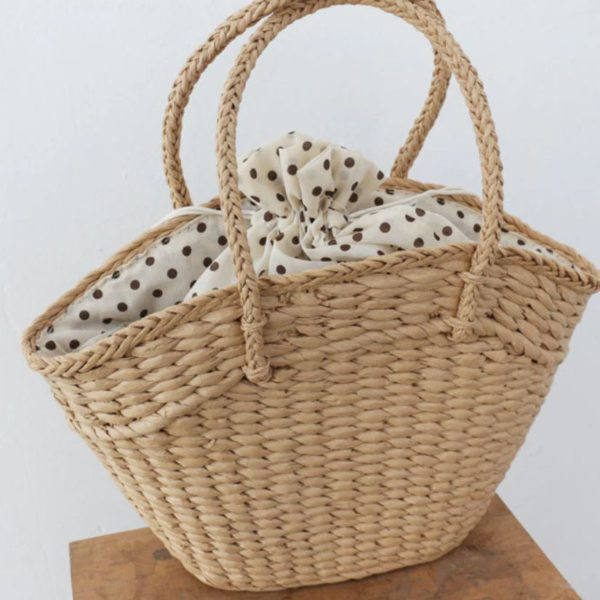 Cоломенная сумка