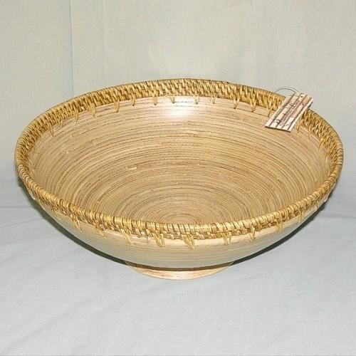 Бамбуковая тарелка