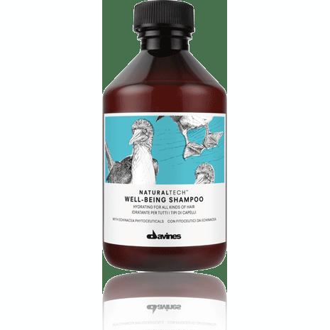 DAVINES  ШАМПУНЬ ДЛЯ ЗДОРОВЬЯ ВОЛОС WELL-BEING SHAMPOO Увлажняющий шампунь для всех типов волос